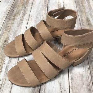 🍁🧡 Small Heel Comfortable Sandals Soft